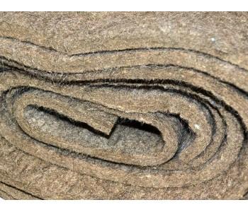 Войлок полугрубошерстный ППрА для прокладок толщ.10мм шир.2000мм ГОСТ 6308-71